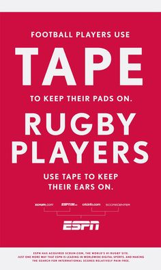 So true. Now people realize why rugby players make fun of football players :p Rugby League, Rugby Players, Football Players, Citation Rugby, Rugby À Xiii, Rugby Rules, Rugby Girls, Wales Rugby, All Blacks Rugby
