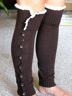 Hey, I found this really awesome Etsy listing at https://www.etsy.com/listing/203929454/clearance-brown-open-crochet-knit-leg