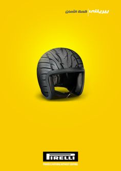 Pirelli Tires by mohamed helall, via Behance Graphic Design Layouts, Graphic Design Posters, Modern Graphic Design, Ad Design, Branding Design, Clever Advertising, Advertising Design, Marketing And Advertising, Pirelli Tires