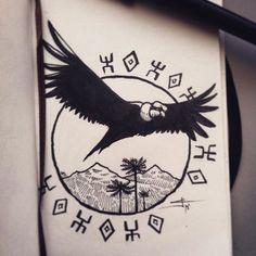 Discover recipes, home ideas, style inspiration and other ideas to try. Dope Tattoos, Body Art Tattoos, Small Tattoos, Sleeve Tattoos, Tattoo Ink, Peru Tattoo, Inca Tattoo, Cthulhu Tattoo, Viking Symbols