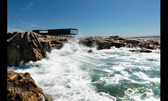 Fogo Island, Long Studio | Canada's Todd Saunders...incredibly talented architect!
