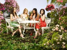 Troian, Ashley, Shay and Lucy (Pretty Little Liars)