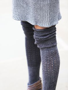 Free People Blanket Pointelle Sock at Free People Clothing Boutique Winter Wear, Autumn Winter Fashion, Winter Style, Fall Fashion, Free People Clothing, Clothes For Women, Tall Socks, Knee Socks, Boot Socks