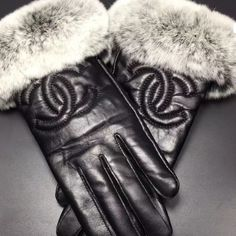 Chanel gloves Chanel 2015 leather gloves CHANEL Accessories Gloves & Mittens