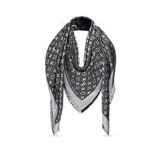 Les collections de Louis Vuitton : Châle Monogram Denim