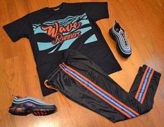 Swag Outfits Men, Nike Outfits, Trendy Outfits, Fashion Outfits, Best Street Outfits, Urban Fashion, Mens Fashion, Hype Clothing, Mens Jogger Pants