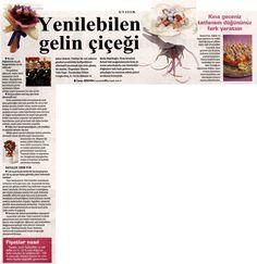 Hürriyet Gazetesi  Gelin Eki - 20.04.2012