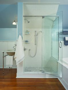 Classic Victorian Bathroom: Maple Glen, PA - traditional - bathroom - philadelphia - HomeTech Renovations, Inc.