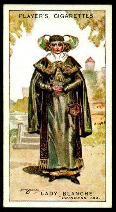 "https://flic.kr/p/h1SwM8 | Cigarette Card - Lady Blanche, Princess Ida | Player's Cigarettes  ""Gilbert & Sullivan"" (A series of 50 issued in 1925) #34 Lady Blanche ~ Princess Ida"
