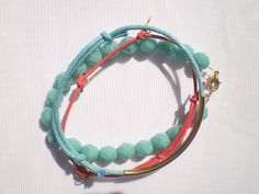 Set of three handmade elegant bracelets by twolittlefairies