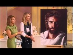 How she saw Lord Jesus at the age of 4 and how she painted his holy face at the age of 8 - YouTube