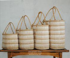 gama basket hiruzen japana hand craft