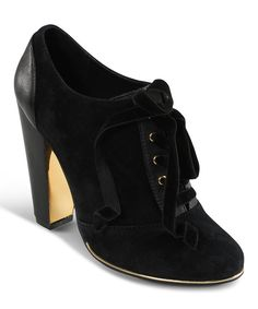 Love this Vogue Footwear Black Suede Bootielicious Bootie by Vogue Footwear on #zulily! #zulilyfinds