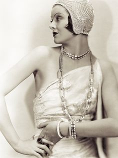 The lovely Myrna Loy.