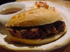 FRENCH DIP SANDWICHES--Best in the West or East! Recipe