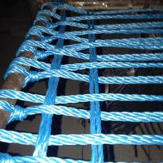 """I have two wicker patio chairs that both decided to come apart around the same time. Instead of trashing the set and buying a new one, I decided to try creating a new base that I could put a pretty cushion over. I stopped at the dollar store and picked up two 1/4 inch 100 foot """"cloth rope"""". I sort of just winged the design since I am going for more structural stability than anything."""