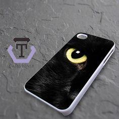 Black Cat Eye iPhone 4|iPhone 4S Black Case