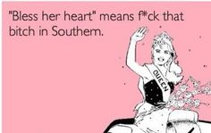 Lol!!! Bless her heart!   Is this true @Audra Eury ? :)