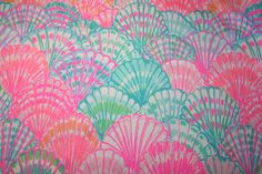 """Lilly Pulitzer fabric~2015~ """"MULTI OH SHELLO""""~ Cotton Dobby by WELOVELILLY on Etsy https://www.etsy.com/listing/257456751/lilly-pulitzer-fabric2015-multi-oh"""