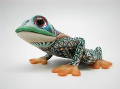 Fimo Mama Tree Frog