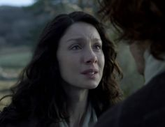 """""""Come with me Jamie..."""" Claire Fraser (Caitriona Balfe) and Jamie Fraser (Sam Heughan) in Episode 213 """"Dragonfly In Amber"""" Outlander Season Two Finale on Starz via  https://outlander-online.com/"""