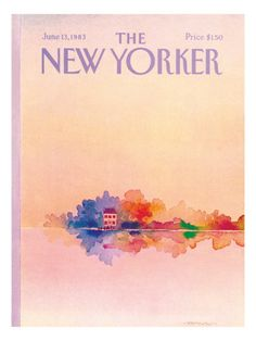 The New Yorker Cover - June 13, 1983  by Susan Davis