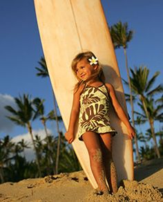 Surfer Girl. Yes, I'll make sure my little girl's gonna learn how to swim and she will conquer the waves! :) -SheryBerry