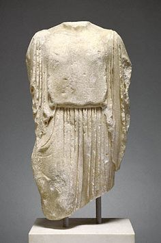 The Elgin Kore  about 475 B.C.   Marble.