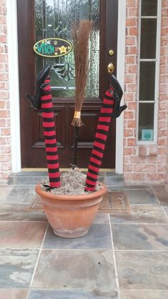 The witch is IN! Halloween Fun, Planter Pots, Witch, Witches, Witch Makeup, Wicked, Maleficent, The Witcher