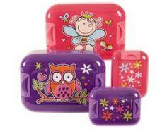 Pumped® EasyOpen™ Girls lunch box