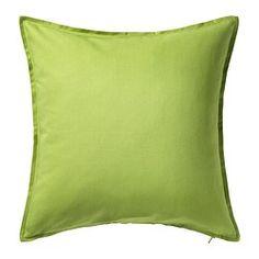 IKEA - GURLI, Faţă pernă, Cu fermoar; se scoate uşor.