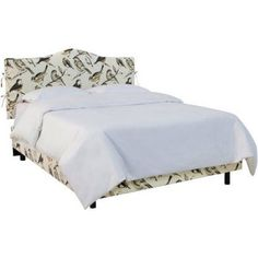 Slipcover Bed with Ties, Multiple Sizes and Colors