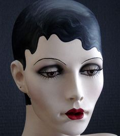 Lola The Glamor Girl Mannequin Head 1920 Style by ohmama on Etsy, $400.00