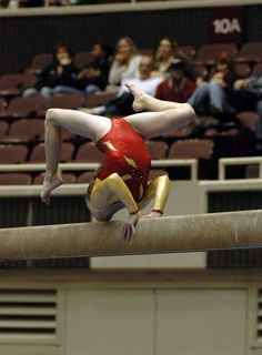 gymnastics competition, gymnast, balance beam m.0.6 #KyFun