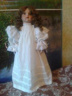 домашнее платье для коллекционной куклы