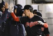Carlos Carrasco pitched five innings for the win Tuesday night and the Indians tied a season high six runs to beat Chicago. It was Carrasco first start since Chicago's Melky Cabrera hit in the jaw with a line drive on April 14.
