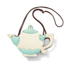 We ship for FREE worldwide this item.  Retro Alice teapot handbag / clutch. A lovely functional bag to carry out your mobile phone, make up, wallet and any small thing you love most. The bag comes with an adjustable strap and inside  pocket .   Style: Retro  Closure: Zip closure  Material: ...