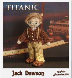 #amigurumi #titanic Jack