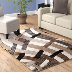 Winston Porter Maricela Hand Carved Beige/Gray/Black Area Rug Rug Size: x Navy Blue Area Rug, White Area Rug, Beige Area Rugs, Black And Grey Rugs, Grey And Beige, Gray, Luxury Hotel Bathroom, Outdoor Area Rugs, Rugs Online