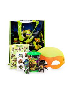 Ninja Turtles Ultimate Favor Kit (Each) - Party Favor Sets & other Party Supplies from Birthday in a Box
