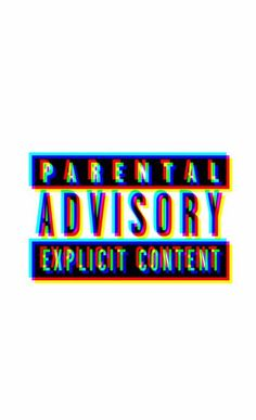 parental, advisory, and explicit image