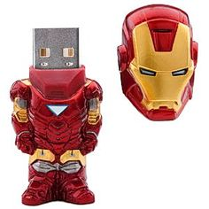 Iron Man Flash Drive yes I know I am a girl but I think this is pretty cool I want one! :)