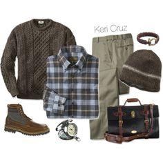 """Men's Winter"" by keri-cruz on Polyvore"