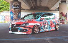 @sourkrauts Golf V  Wrapped: @folienfx  Design by TTStudio.ru  #vw #golf #mk5 #sourkrauts #automotivefashion #streetwear #motorwear #designforcar #lowcars #wrap #wrapdesign #customwraps #customgraphics #carwrap #wrapping #carwraps #vinylwraps #carwrapping #folie #foliedesign #foliecardesign #carfolie #fullwarp #vehiclewraps #ttstudioru