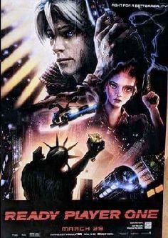 Blade Runner Ready Player One Poster.  See all 12 mash ups