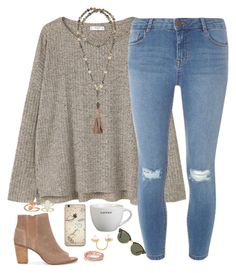 A fashion look from April 2017 featuring MANGO t-shirts, Dorothy Perkins jeans e TOMS ankle booties. Browse and shop related looks. Teen Girl Outfits, Mom Outfits, Casual Outfits, Cute Outfits, Vacation Outfits, School Outfits, Cute Fashion, Fashion Outfits, Fashion Trends