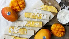 Try a dessert treat that won't make you feel bloated the next morning - a mango bar you can make yourself at home! -wyza.com.au