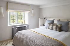 Interior Architecture and Interior Design Project | Cotswold Country House — Gunter & Co Cotswold Cottage Interior, Cottage Interiors, Cotswold Cottages, Cotswold House, Country Interiors, Master Bedroom Interior, Bedroom Decor, Dream Bedroom, Bedroom Ideas