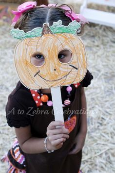 Girly Pumpkin Patch Birthday Party Ideas | Photo 47 of 48 | Catch My Party