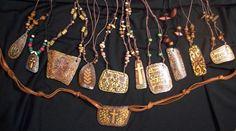 Kristin Johnston's gourd jewelry